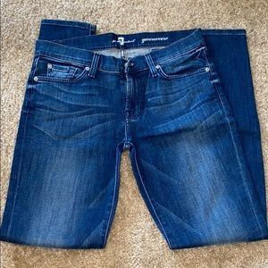 7 for all mankind given ever skinny jeans